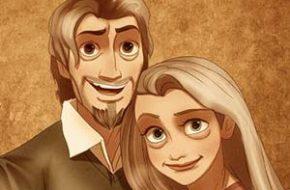 Personagens Disney idosos
