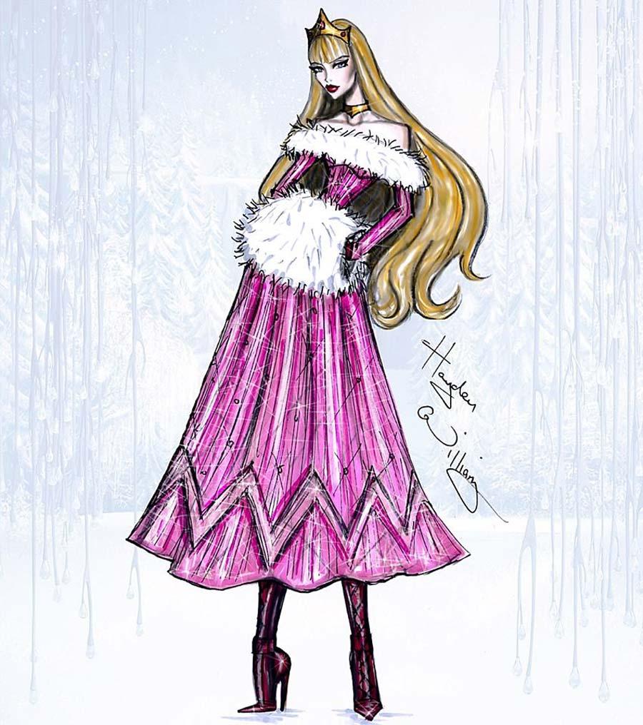 disney-ilustracoes-inverno-aurora