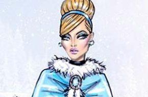Princesas Disney com roupas de inverno