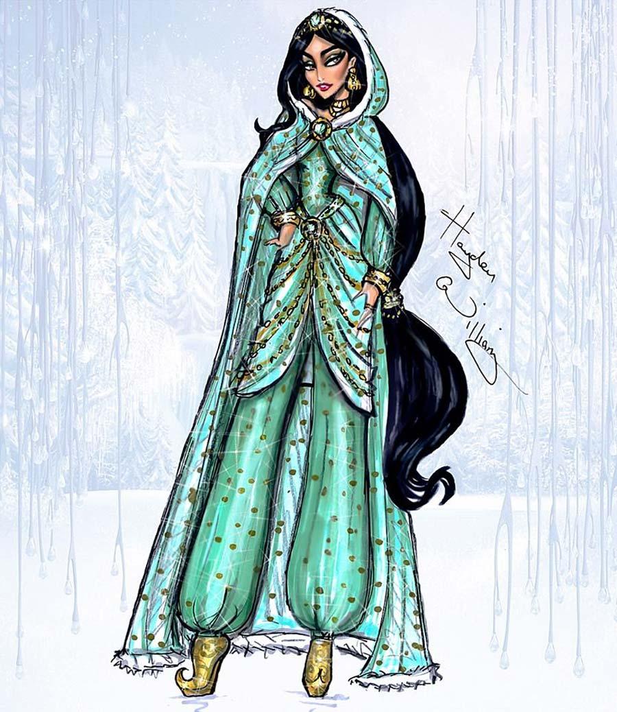 disney-ilustracoes-inverno-jasmine