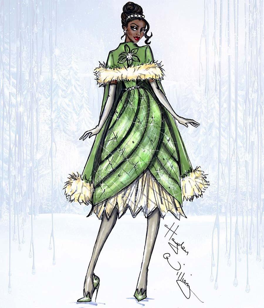 disney-ilustracoes-inverno-tiana