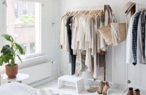 Decoração: Arara de roupa