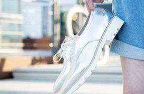 Como usar: Sapato prateado