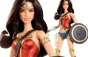 A nova Barbie da Mulher Maravilha