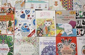 Minha coleção de livros de colorir