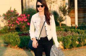 Look do dia: Preto, cinza e jeans