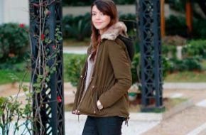 Look do dia: Parka com pelúcia
