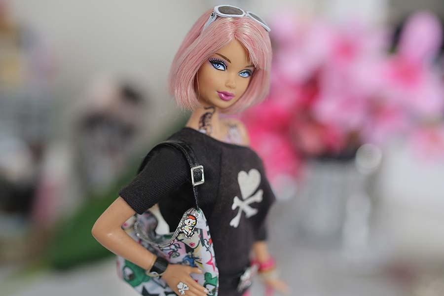 Minha Tokidoki Barbie de 2011