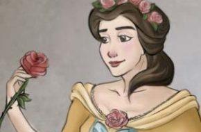 Princesas Disney com roupas de noiva históricas