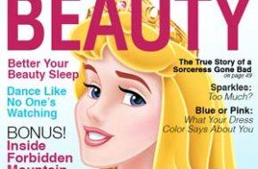 Capas de revistas com as Princesas Disney