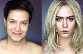 As transformações com maquiagem de Paolo Ballesteros