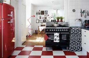 Decoração: Vermelho na cozinha