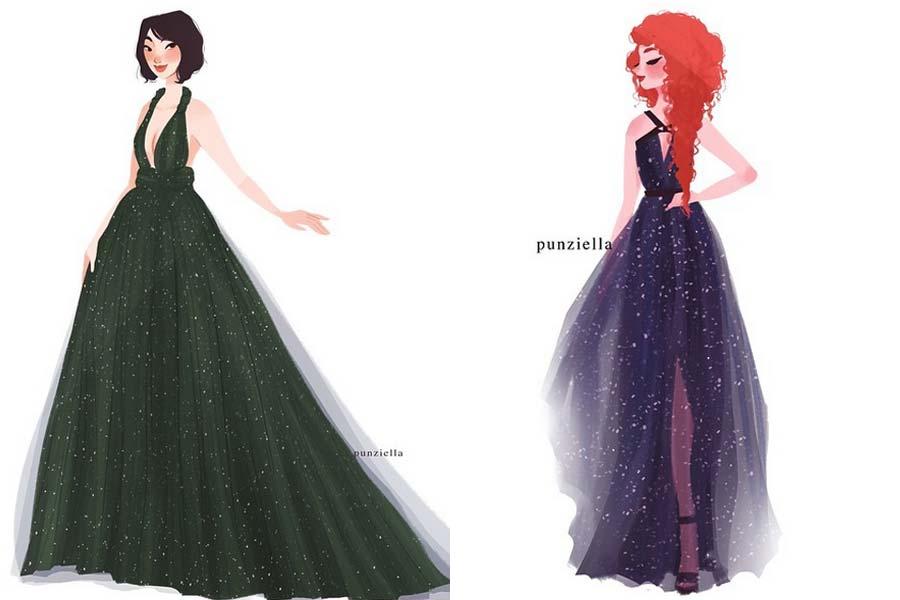 disney-ilustracoes-princesas-vestidosdeestilistasfamosos-007