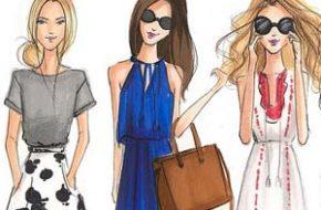 As ilustrações fashion de Holly Nichols