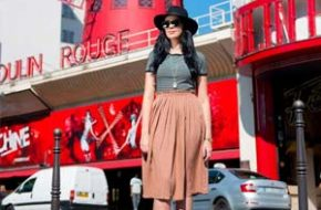 Look do dia: Listras e midi