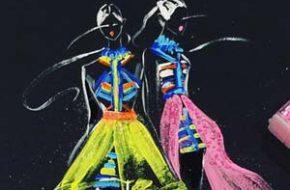 Rongrong DeVoe e suas ilustrações fashion