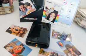 A impressora portátil instantânea Polaroid Zip