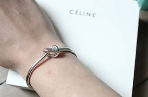 Tendência: Céline knot bracelet