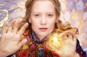 """Pôsteres de personagens """"Alice Através do Espelho"""""""