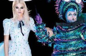 Kendall no País das Maravilhas para Vogue