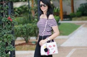 Look do dia: Blusa listrada