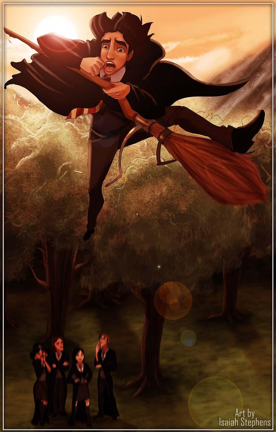disney-ilustracoes-harrypotter-hogwarts-005