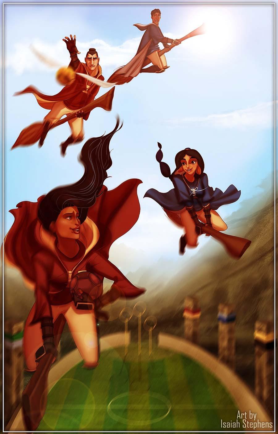 disney-ilustracoes-harrypotter-hogwarts-007