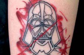 As tatuagens geeks de Drikalinas