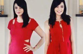Look BitterSweet com vestido vermelho
