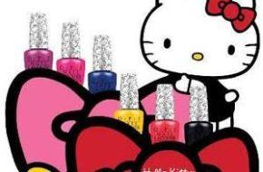 Esmaltes da Hello Kitty para a OPI