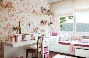 Decoração: Papel de parede floral