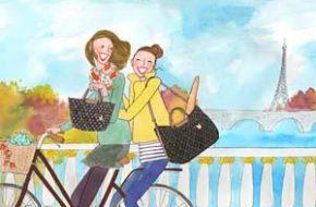 As ilustrações parisienses de Kanako Kuno