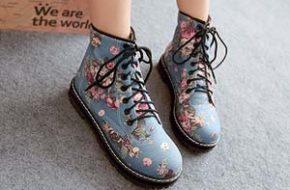 Tendência: Sapato com estampa floral