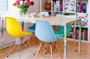 Decoração: Cadeira Eames DSW