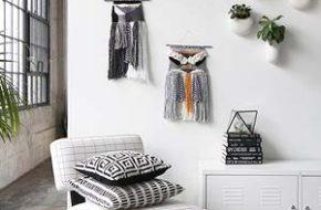 Decoração: Tecelagem de parede