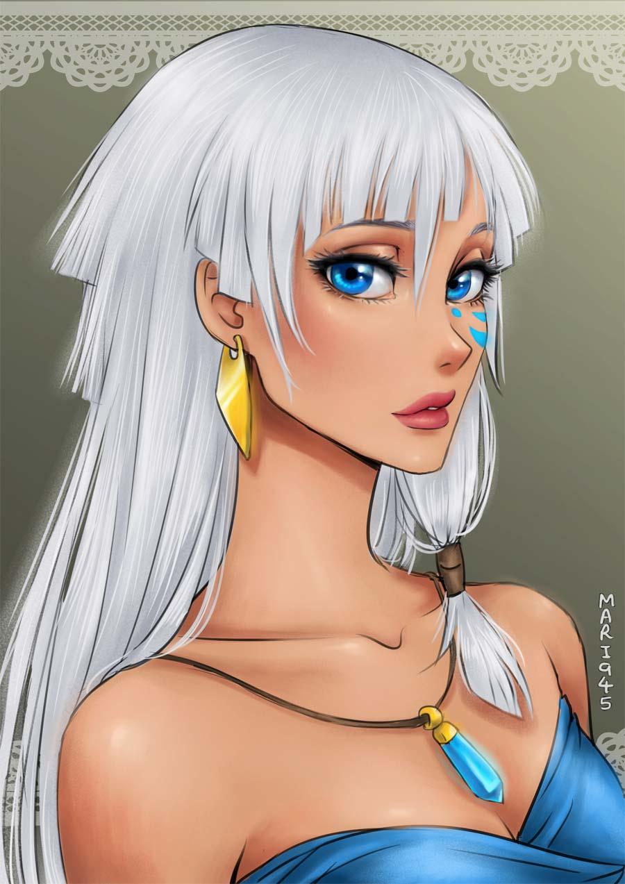 disney-ilustracao-princesas-retratos-animes-014