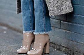Tendência: Cropped flare jeans