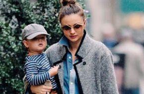 Mãe de menino: Miranda Kerr e Flynn