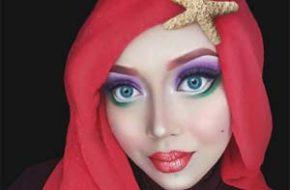Personagens Disney com véu muçulmano