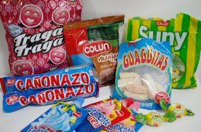 Provando doces chilenos
