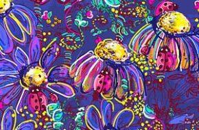 As estampas florais e vivas de Alessandra Botelho