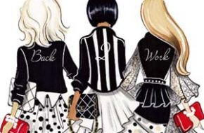 As ilustrações fashionistas de Aaron Favaloro