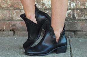 Tendência: Slit boots