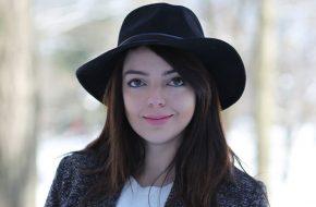 4 jeitos de usar: Chapéu preto de feltro