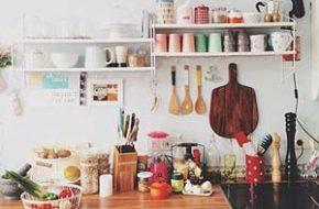 Decoração: Cozinha sem armários