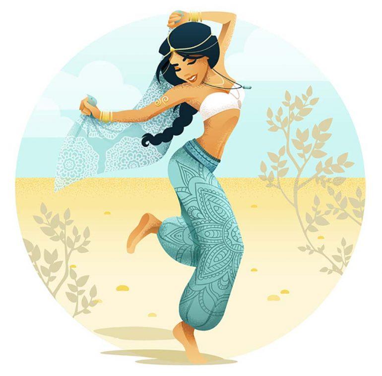 Disney ilustracao festival andibokelmann 001 just lia for Musica orientale famosa