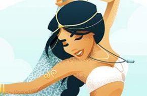 Princesas Disney em festival de música