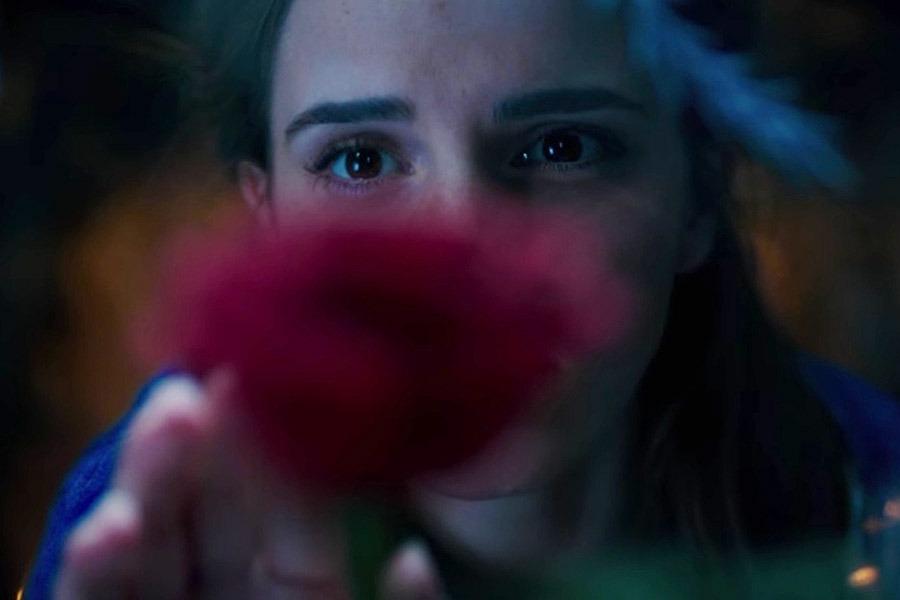 Emma Watson como Bela