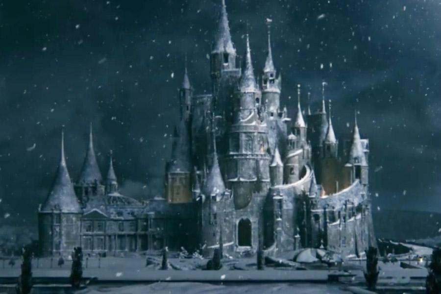 O castelo do príncipe Adam