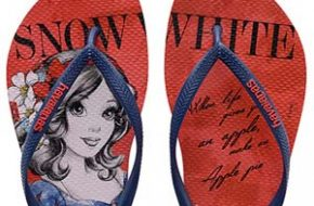 As novas Havaianas das Princesas Disney